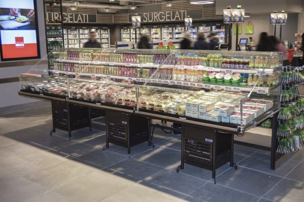 EPTA Food to go integral display cabinets