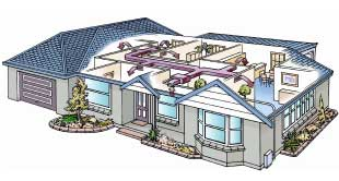 Whole Home Ducted Heat and Cooling System